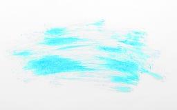 Courses de brosse colorées par bleu Images stock