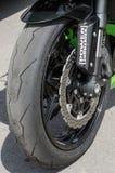 courses de moto de Route-anneau Photographie stock libre de droits