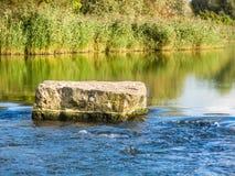Courses de rivière Images libres de droits
