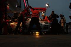 24 courses Nuerburgring 2013 d'heure Image libre de droits
