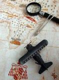 Courses pour le concept de voyage d'aventure photos libres de droits
