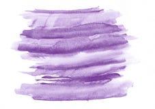 Courses pourpres de brosse de gradient d'aquarelle Beau fond abstrait pour des concepteurs, maquettes, invitations, cartes postal illustration stock