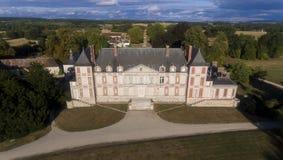 Courson城堡 免版税图库摄影