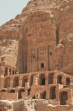 The Court. Ancient building in Petra,Wadi Musa Stock Photo