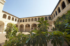 Court of ancient palace in Bevagna Royalty Free Stock Photos