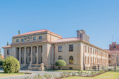 The Court of Appeal in Bloemfontein. South Africa, was completed in 1929. Bloemfontein is the Judicial Capital of South Africa. The 28 storey Provincial Stock Photos