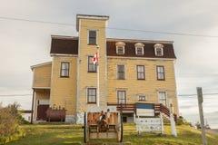 Court in Bonavista, Newfoundland. St. John`s, Newfoundland and Labrador, Canada royalty free stock images