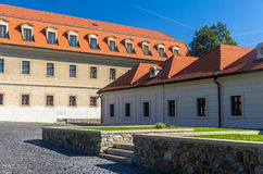 Court of Bratislava Castle, Slovakia Stock Photography