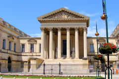 Court building. Court of law building in Montpellier, France Royalty Free Stock Photos