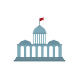 Court building symbol Royalty Free Stock Photography