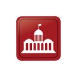 Court building symbol Stock Image