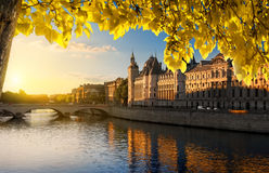 Court of Cassation in autumn Stock Photography