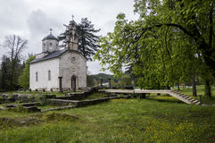 Court Church in Cetinje Royalty Free Stock Photography
