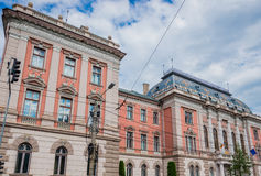 Court in Cluj-Napoca Royalty Free Stock Photos