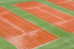 Court de tennis images libres de droits
