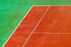 Court de tennis Photos libres de droits
