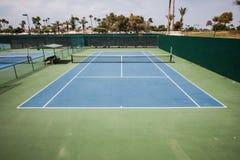 Court de tennis Photos stock