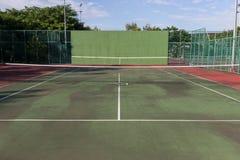 Court de tennis Photo stock