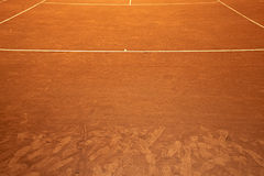 Court de tennis Photographie stock libre de droits