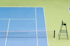 Court de tennis photographie stock
