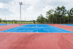 Court de tennis Photo libre de droits