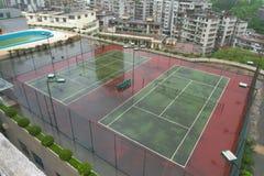 Court de tennis Photographie stock libre de droits