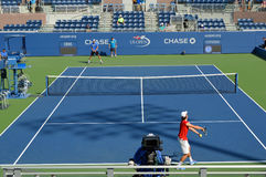 Court de tennis d'US Open Image libre de droits