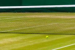 Court de tennis de pelouse Image libre de droits