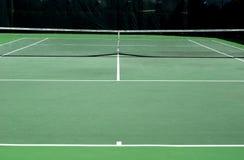 Court de tennis entier Photos stock