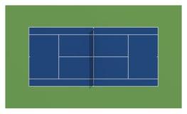Court de tennis Les USA ouvrent le tennis Images libres de droits