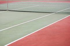 Court de tennis vide Image libre de droits