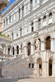 Court Of The Doges Palace in Venice Stock Image