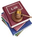 Court gavel. 3d image on white background Stock Images