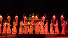 "The court of honor-wealthy and influential family-Jiangxi opera ""Red pearl"" Stock Images"