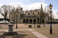 Court house. Athy. Kildare. Ireland. Court house. Athy. county Kildare. Ireland stock image