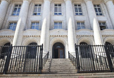 Court House Entrance Royalty Free Stock Photos
