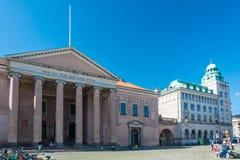 Court House on Nytorv new square in Copenhagen Royalty Free Stock Photo