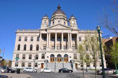 Court House of Onondaga County, Syracuse, NY, USA Stock Images