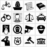 Court icon Royalty Free Stock Images