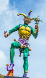Court jester in New Orleans Stock Photo