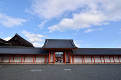 The court of Kyoto imperial palace, Japan. Royalty Free Stock Photos