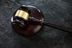 Court legal gavel Royalty Free Stock Image