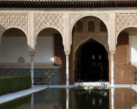 Court of the Myrtles at the Alhambra Stock Photo