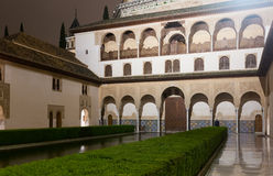 Court of the Myrtles (Patio de los Arrayanes), Alhambra Royalty Free Stock Images