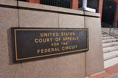 Free Court Of Appeals For The Federal Circuit In DC Royalty Free Stock Photography - 136461527