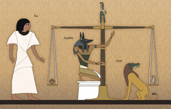 Court of Osiris Stock Photography