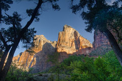 Court of the Patriarchs, Zion Stock Photography