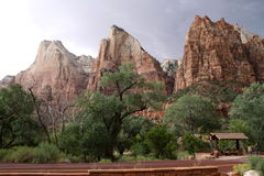 Court of the Patriarchs at Zion Royalty Free Stock Images