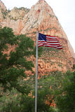 Court of the Patriarchs, Zion National Park, Utah Stock Images