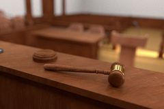 Court room Stock Images